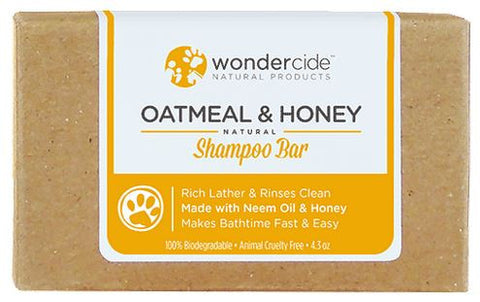 Wondercide - Oatmeal & Honey Natural Shampoo Bar