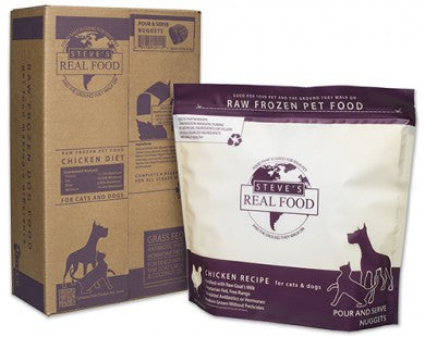 Steve's Real Food - Chicken Nuggets - Raw Dog Food - Various Sizes (Hillsborough County FL Delivery Only)