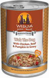 Weruva - Wok the Dog with Chicken, Beef, and Pumpkin in Gravy - Wet Dog Food - 14 oz