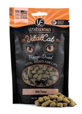 Vital Essentials - Freeze-Dried Ahi Tuna Cat Treat