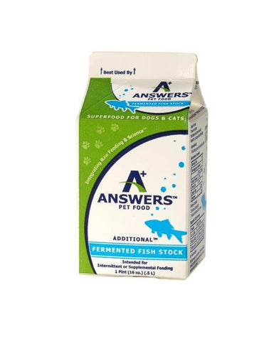 Answers - Additional Fermented Fish Stock - Various Sizes (Local Tampa Bay Delivery Only)