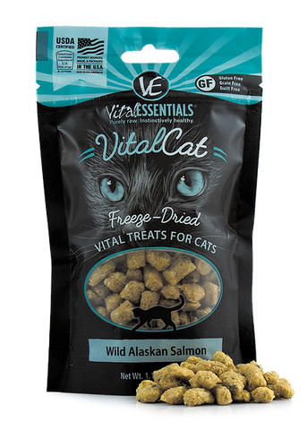 Vital Essentials - Freeze-Dried Wild Alaskan Salmon Cat Treat