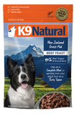 K9 Natural - Beef Feast - Freeze-Dried Dog Food - 1.1 lb