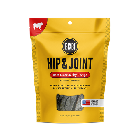 Bixbi - Hip & Joint Beef Liver Jerky Treat
