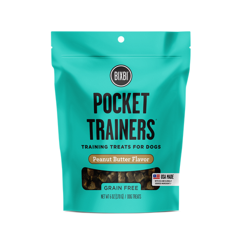 Bixbi - Pocket Trainers Peanut Butter Treat