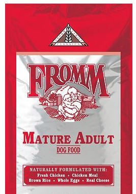 Fromm - Classic Mature Adult - Dry Dog Food - 15 lb