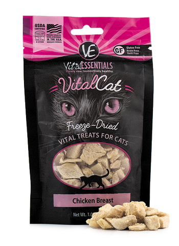 Vital Essentials - Freeze-Dried Chicken Breast Cat Treat
