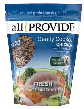 All Provide - Gently Cooked Chicken Crumble - Gently Cooked Dog Food - 2 lb (Local Tampa Bay Delivery Only)