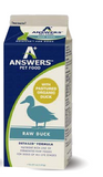 Answers - Detailed Duck - Raw Dog Food - Various Sizes (Hillsborough County FL Delivery Only)