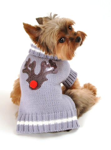 Hip Doggie - Reindeer Sweater