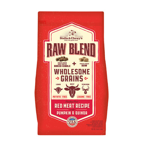 Stella & Chewy's - Raw Blend Wholesome Grains Red Meat - Dry Dog Food - Various Sizes (Hillsborough County FL Delivery Only)