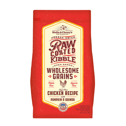 Stella & Chewy's - Raw Coated Wholesome Grains Chicken - Dry Dog Food - Various Sizes (Hillsborough County FL Delivery Only)