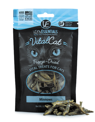 Vital Essentials - Freeze-Dried Minnows Cat Treat