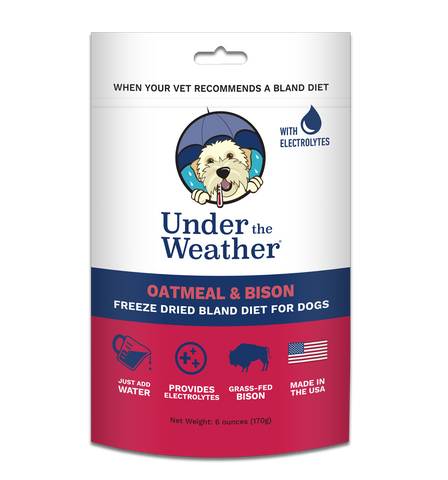 Under The Weather - Oatmeal & Bison Bland Diet