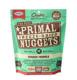 Primal - Nuggets Chicken - Freeze-Dried Dog Food - Various Sizes