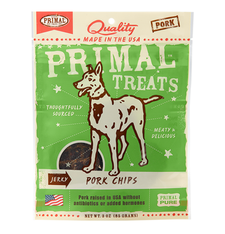 Primal - Jerky Pork Chips Treat