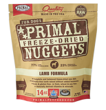 Primal - Nuggets Lamb - Freeze-Dried Dog Food - Various Sizes