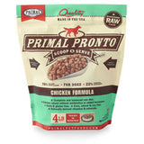 Primal - Chicken Pronto - Raw Dog Food - Various Sizes (Hillsborough County FL Delivery Only)