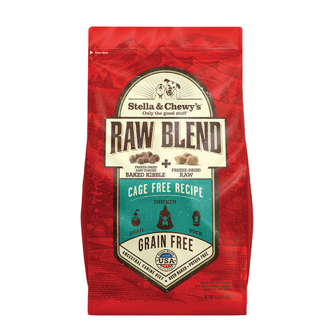 Stella & Chewy's - Raw Blend Baked Cage-Free - Dry Dog Food - Various Sizes (Hillsborough County FL Delivery Only)