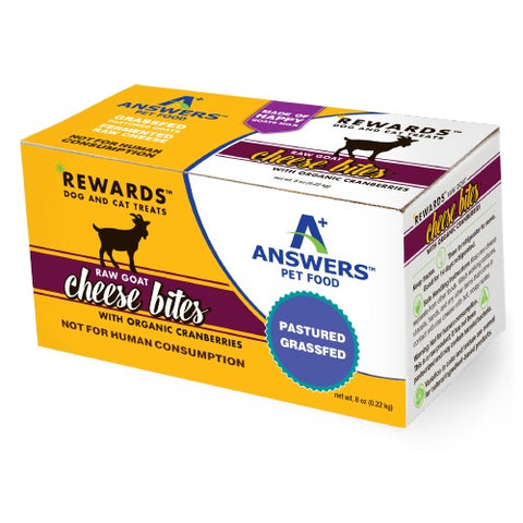 Answers - Rewards Raw Goat Cheese with Organic Cranberries Treat (Hillsborough County FL Delivery Only)