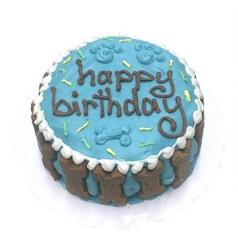 Bubba Rose - Large Blue Birthday Cake