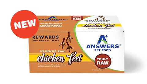 Answers - Rewards Chicken Feet Treat (Hillsborough County FL Delivery Only)