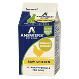 Answers - Detailed Chicken - Raw Dog Food - Various Sizes (Hillsborough County FL Delivery Only)