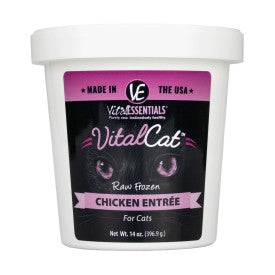 Vital Essentials - Chicken Tub - Raw Cat Food - 14oz (Hillsborough County FL Delivery Only)