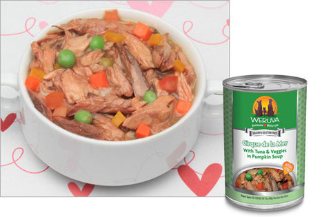 Weruva - Cirque De La Mer with Tuna & Veggies in Pumpkin Soup - Wet Dog Food - 14 oz