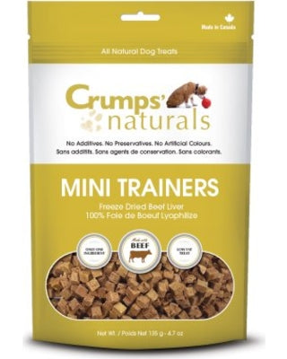 Crumps Natural - Mini Trainers Freeze Dried Beef