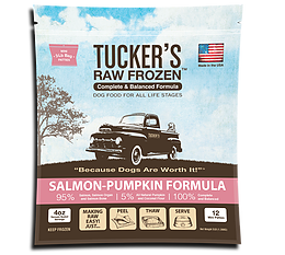 Tucker's - Salmon-Pumpkin Formula - Raw Dog Food - Various Sizes