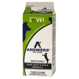 Answers - Additional Raw Goat's Milk - Various Sizes (Hillsborough County FL Delivery Only)