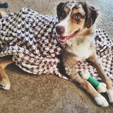 Tall Tails - Houndstooth Blanket