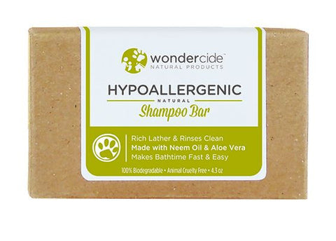 Wondercide - Hypoallergenic Natural Shampoo Bar