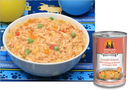 Weruva - Jammin' Salmon with Chicken & Salmon in Pumpkin Soup - Wet Dog Food - various sizes