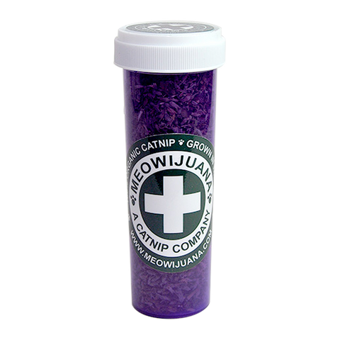 Meowijuana - Purrple Passion Silvervine & Catnip Blend