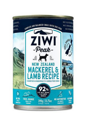Ziwi Peak - New Zealand Mackerel & Lamb - Wet Dog Food - 13.75 oz