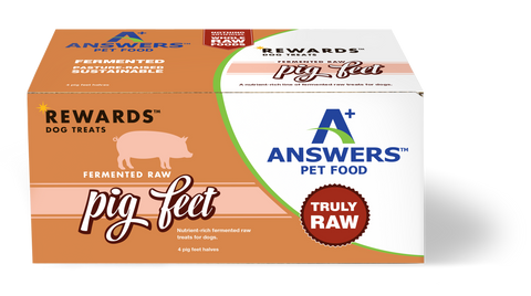 Answers - Rewards Fermented Raw Pig Feet (Hillsborough County FL Delivery Only)