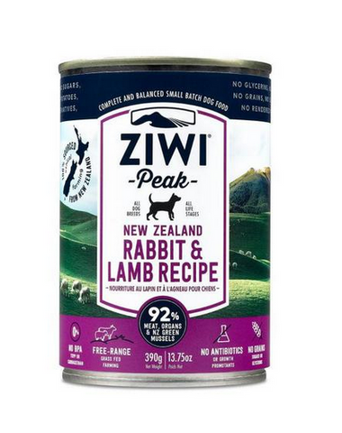 Ziwi Peak - New Zealand Rabbit & Lamb - Wet Dog Food - 13.75 oz