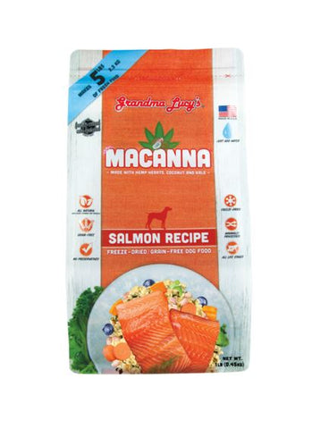 Grandma Lucy's - Macanna Salmon - Freeze-Dried Dog Food - Various Sizes