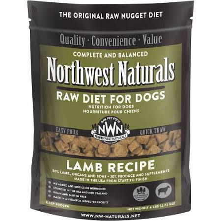Northwest Naturals - Nuggets Lamb - Raw Dog Food - 6 lb (Hillsborough County FL Delivery Only)