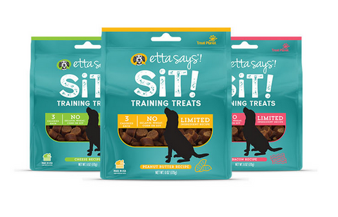 Etta Says - Sit Training Oats & Peanut Butter Treat