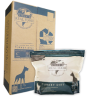 Steve's Real Food - BARF Turkey Patties - Raw Dog Food - 20 lb (Hillsborough County FL Delivery Only)
