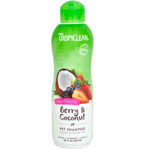 TropiClean - Berry & Coconut Deep Cleaning Shampoo