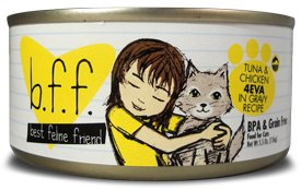 B.F.F (Best Feline Friend) - 4EVA Tuna & Chicken - Wet Cat Food - 3 oz