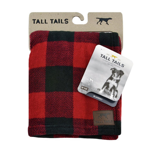 Tall Tails - Hunter's Plaid Blanket