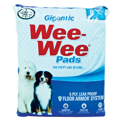 Four Paws - Wee-Wee Pads Gigantic 18 Pack