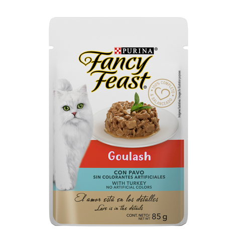 Alimento Fancy Feast Goulash Pavo 85g
