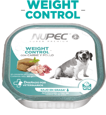 Alimento NUPEC Weight Control Húmedo 100g