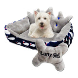 Luny Pet's Cama Royal Azul